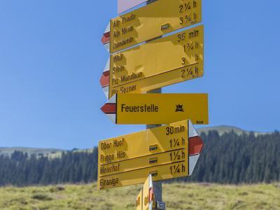 Geführte Halbtageswanderung Auf ins Wintersportgebiet in Obersaxen
