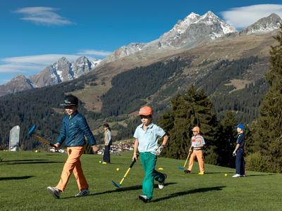 Kids-Golf Familienschnupperkurs in Brigels