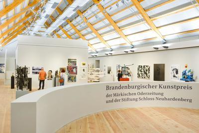 Brandenburgischer Kunstpreis 2021, Foto: Ulrich Dahl, Lizenz: Stiftung Schloss Neuhardenberg