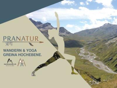 Wandern & Yoga in der Greina