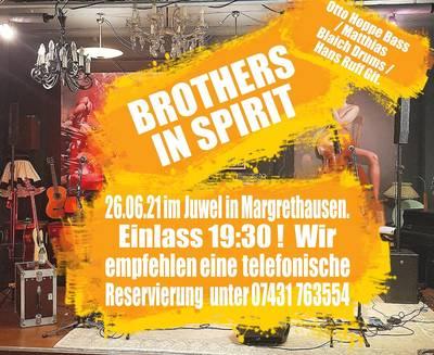 Rock meets Trödel mit BROTHERS IN SPIRIT