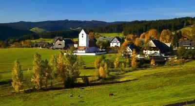 Herbst in Saig. (© Spiegelhalter)
