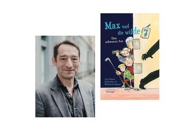 Boris Aljinovic liest Max und die Wilde 7, Foto: Lea Rieke Verlg Friedrich Oetinger, Lizenz: Stiftung Schloss Neuhardenberg