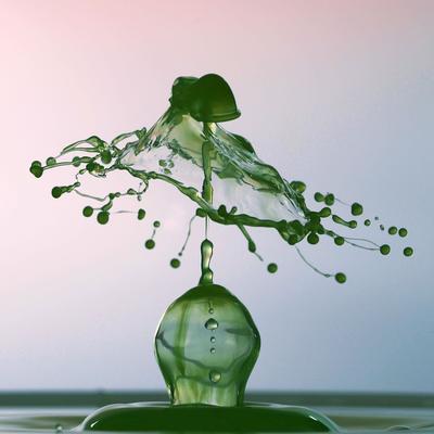 Im Sekundenbruchteil: Lutz Boltz macht mit seiner Highspeedfotografie die Bewegung von Wassertropfen für das menschliche Auge sichtbar. , Foto: Lutz Boltz, Lizenz: Lutz Boltz