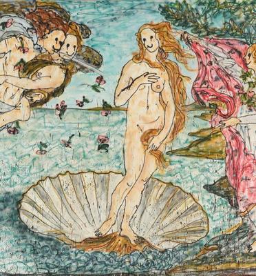 ReBirth of Venus - Renaissance Painting 2.0