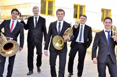 Bild Weihnachten mit Karidion Brass