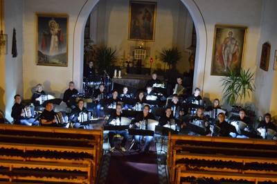 Bild Konzert des Handharmonika Club Albtal