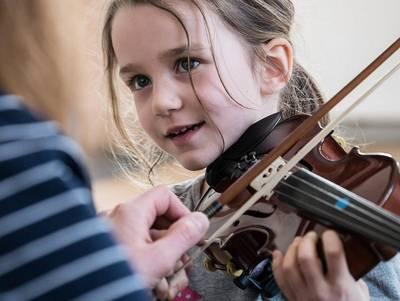 Bild Infotag Musikschule Offenburg/Ortenau, - Zweigstelle Wolfach -