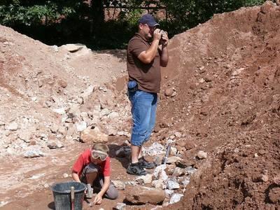 Bild Mineralien suchen auf den großen Halden