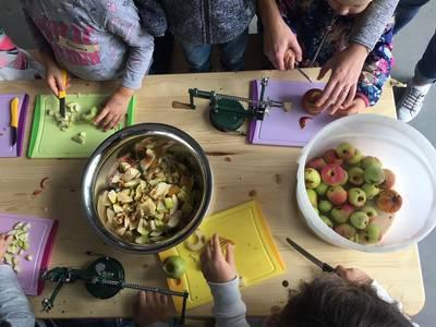 Mössinger Apfelwoche: Apfelkochkurs für Kinder