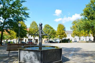 Marktplatz Altlandsberg, Foto: Stephen Ruebsam