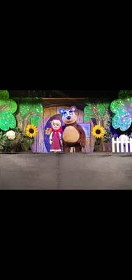 Mascha und der Bär. (© Figurentheater Sperlich)