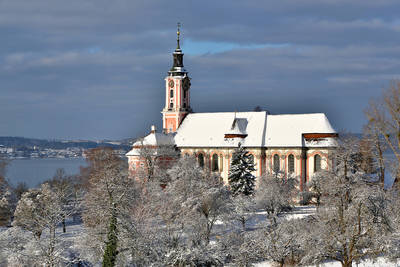 Basilika Birnau . (© Achim Mende, Tourist-Information Uhldingen-Mühlhofen)