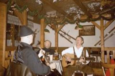 Musikantenstammtisch in der Rotwaldhütte