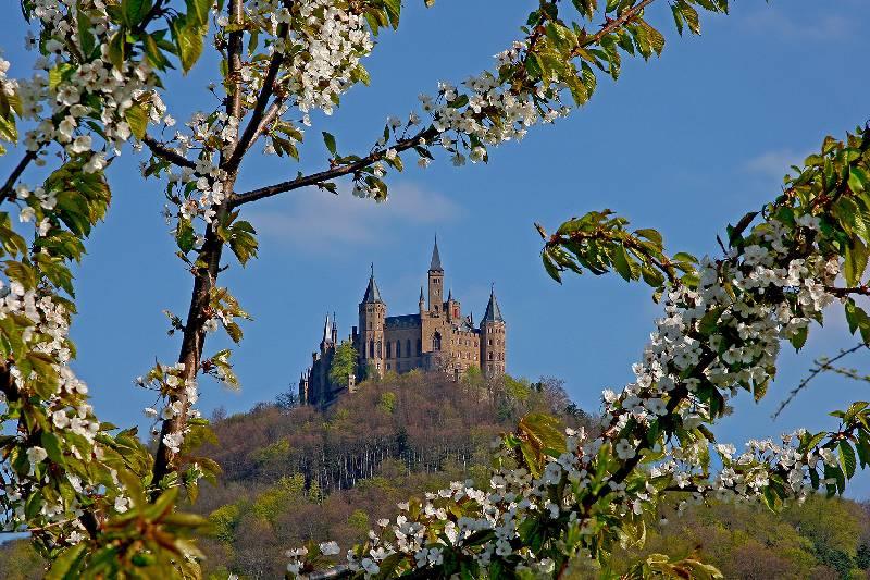 Fruhlingserwachen Zu Ostern Auf Der Burg Hohenzollern
