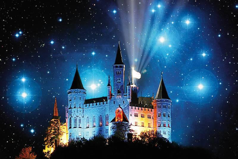 Sternschnuppen Nachte Auf Der Burg Hohenzollern Zollernalbkreis
