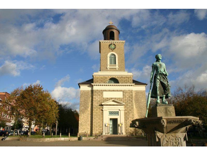 Marienkirche, Markt Husum. © Tourismus und Stadtmarketing Husum GmbH