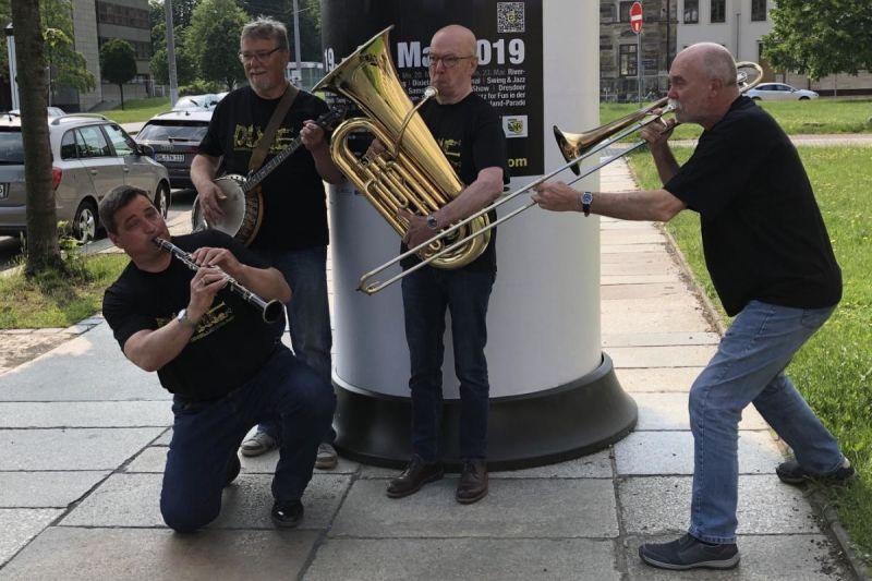 JazzTreff mit der Stormtown Jazzcompany. © Tourismus und Stadtmarketing Husum GmbH