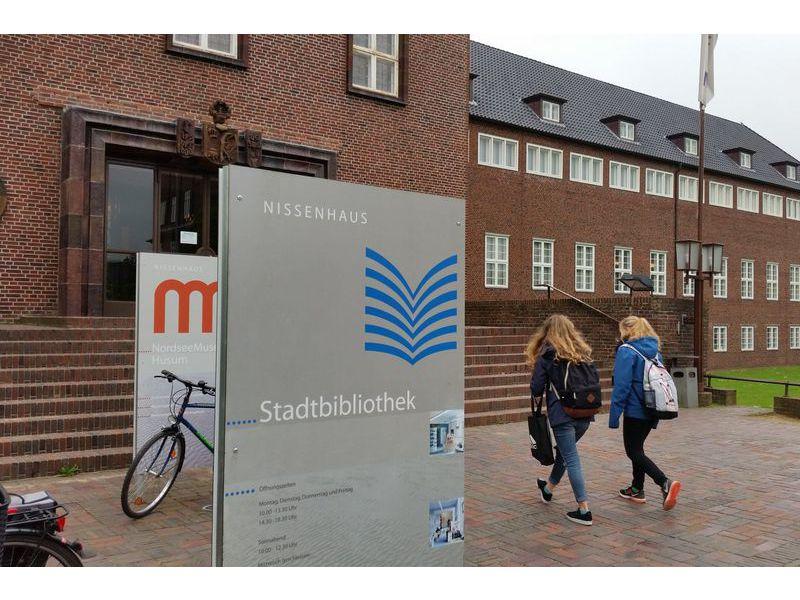 Stadtbibliothek Husum. © Tourismus und Stadtmarketing Husum GmbH