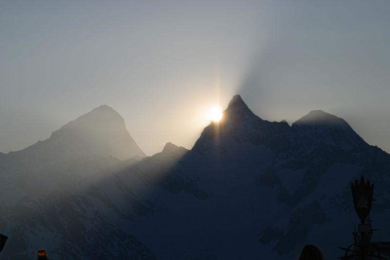 Lever de soleil au Gornergrat