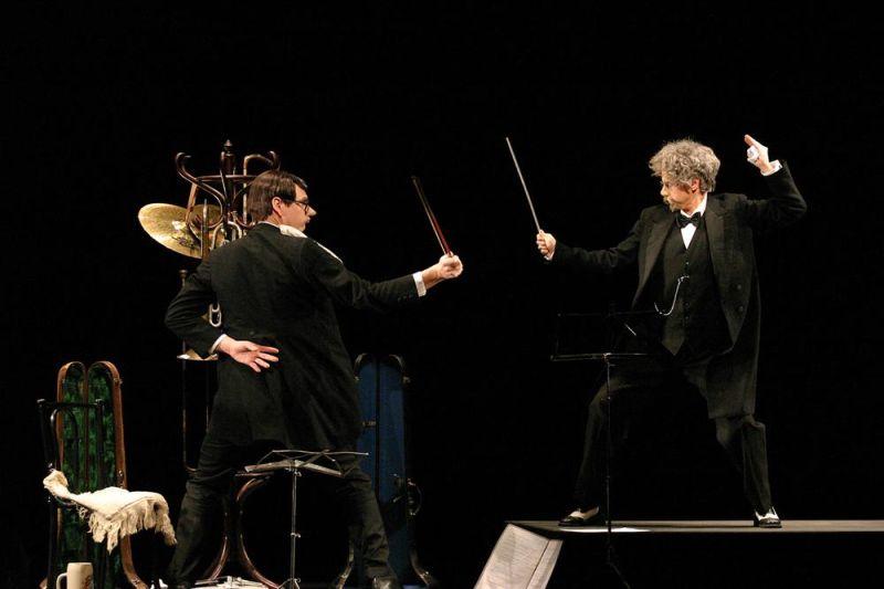 Karl Valentin Orchesterprobe