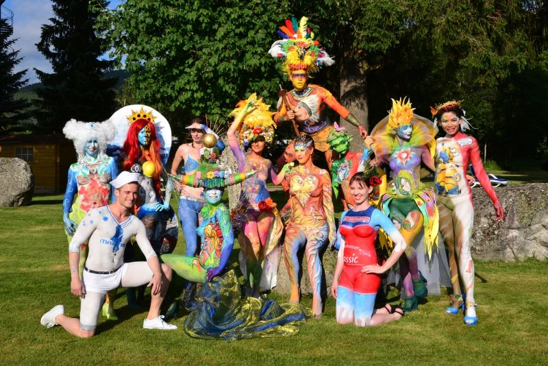 Bodypainting Festival in Titisee | Urlaubsland Baden