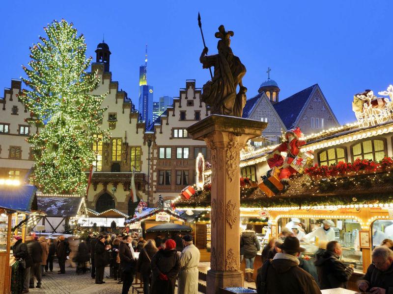 Weihnachtsmarkt Frankfurt Main.Frankfurt Christmas Market Frankfurt Tourism
