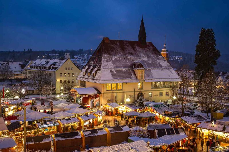 Wann Ist Weihnachtsmarkt 2019.Freudenstädter Weihnachtsmarkt Schwarzwald Tourismus Gmbh