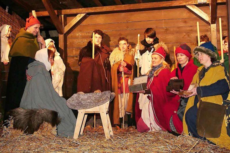 Mittelalterlicher Weihnachtsmarkt.Mittelalterlicher Weihnachtsmarkt In Dirmingen Tourismus