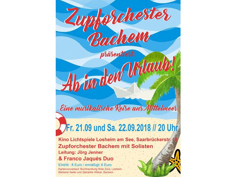 Jahreskonzert des Zupforchesters Bachem | Tourismus Zentrale Saarland