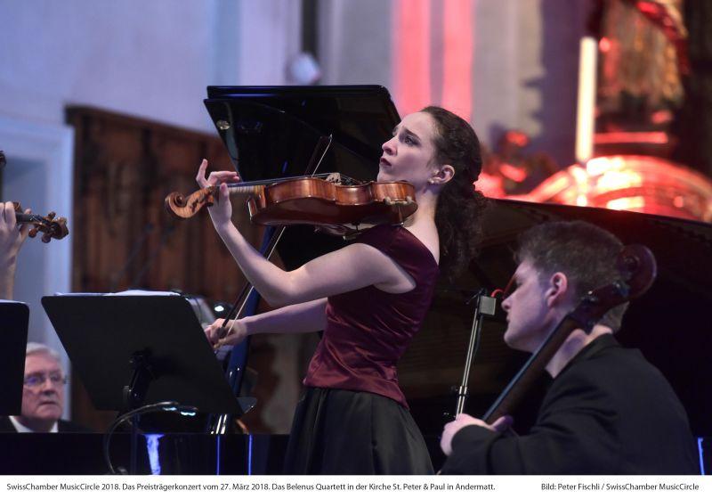 Klassik-Osterfestival 2018 - Belenus Quartett
