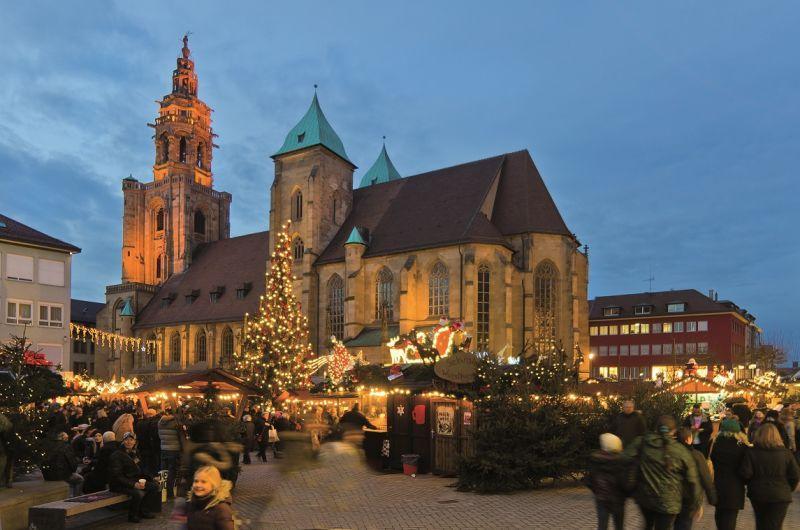 Weihnachtsmarkt Heilbronn.Heilbronner Weihnachtsmarkt Urlaubsland Baden Württemberg