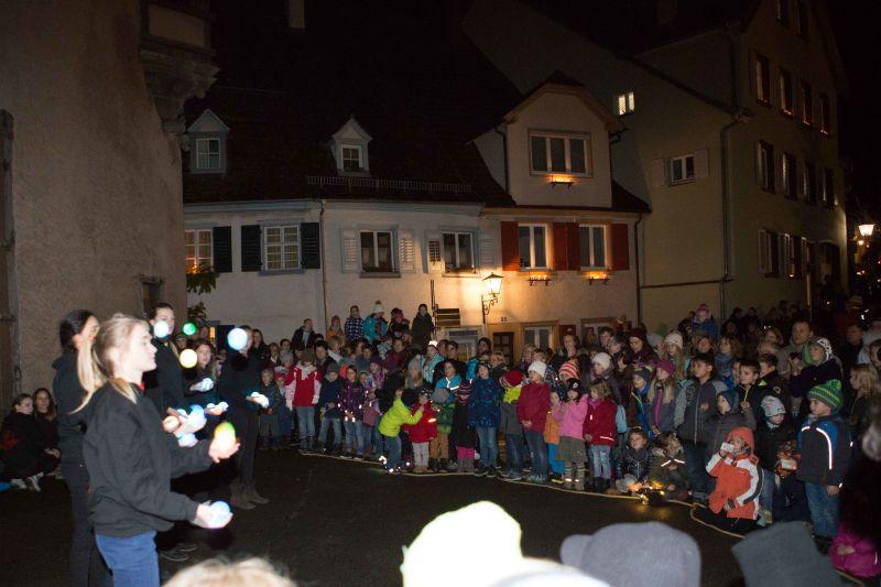 Auftritt Kindercircus Casanietto am Lichterabend