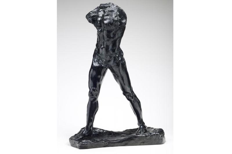 Auguste Rodin, Lhomme qui marche, ca. 1899. ©  Musée Rodin Foto: Christian Baraja