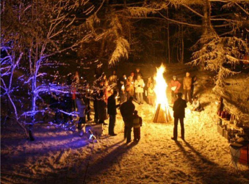 Christmas In The Woods.Christmas In The Woods Rigi