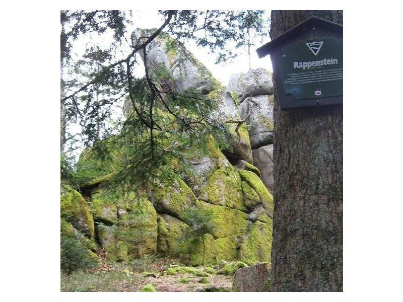 Naturdenkmal Rappenstein bei Kirnbach