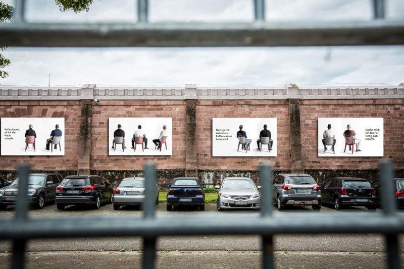 STRAFRAUM  Absitzen in Freiburg. © Britt Schilling