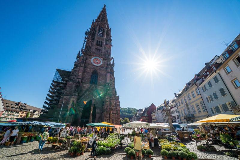 Münstermarkt Freiburg. © FWTM-Bender