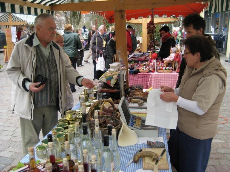 Archivbild Landfrauenmarkt