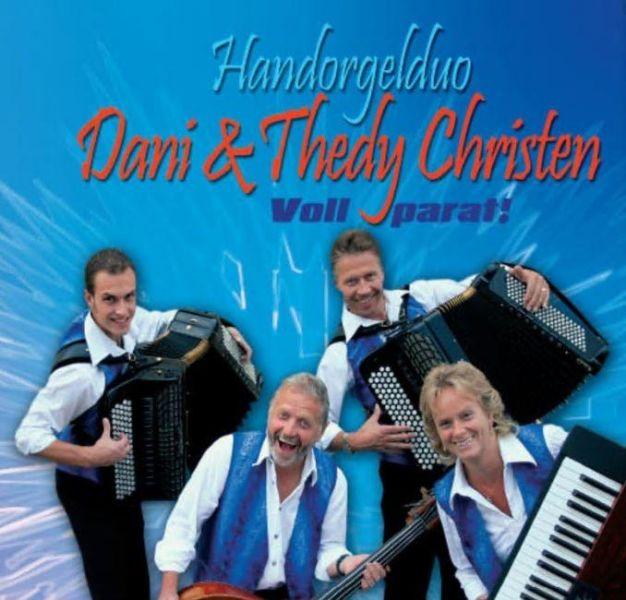 Handorgelduo Dani und Thedy Christen